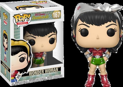 DC Bombshells - Wonder Woman Holiday US Exclusive Pop! Vinyl Figure