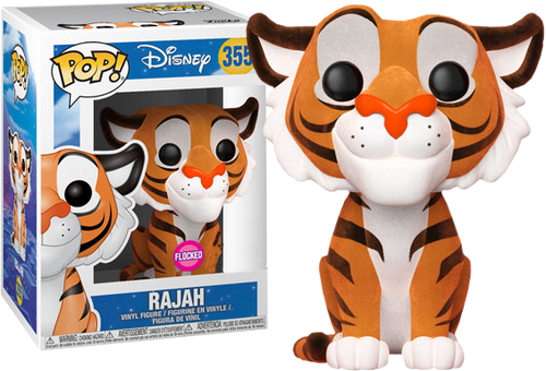 Aladdin - Rajah Flocked US Exclusive Pop! Vinyl Figure