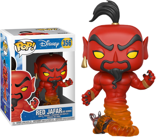 Aladdin - Red Jafar (as Genie) Pop! Vinyl Figure
