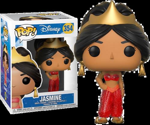 Aladdin - Jasmine (Red Dress) Glitter US Exclusive Pop! Vinyl Figure
