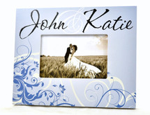 Floral Style Wedding Picture Frame