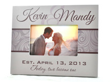 Wedding Style Wedding Picture Frame