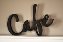 Cafe Word Art