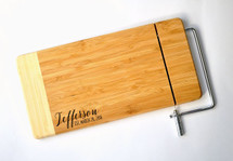 Bamboo Cheese Slicer Style 1