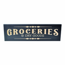 Groceries 6x20