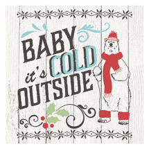 Baby it's cold outside 12x12