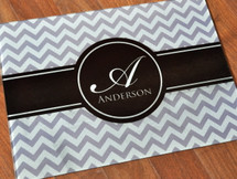 Chevron Glass Cutting Board