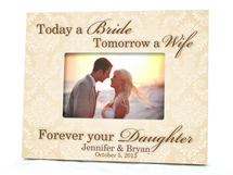 Today a Bride Wedding Picture Frame