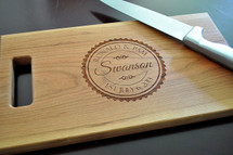 Circle Frame Cutting Board