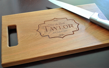 Scalloped Frame Cutting Board