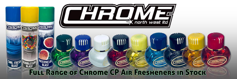 Chrome Northwest Air Fresheners