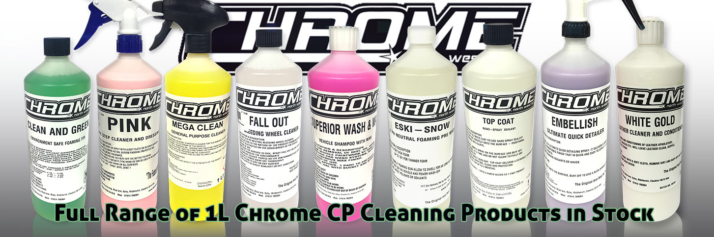 Chrome Northwest 1L Truck Cleaning Range Lymm
