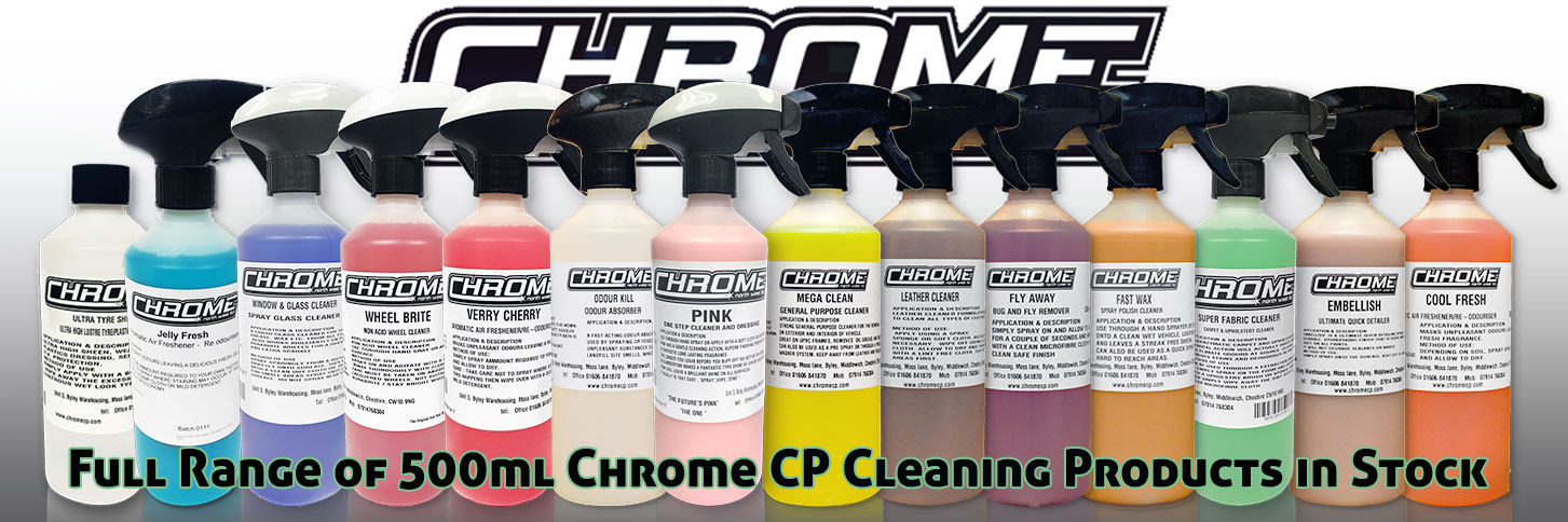 Chrome Northwest 500ml Truck Cleaning Range Lymm