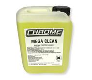 Chrome Mega Clean Polish 5 Litre Container