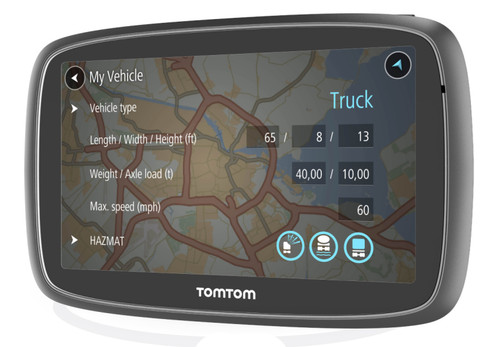 tomtom go professional 6250 the cb shack. Black Bedroom Furniture Sets. Home Design Ideas
