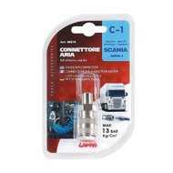 Scania Air Duster Adapter for Dash valve
