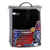 Lampa Premier Truck Curtain Set Black/White