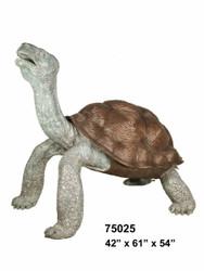 "Large Tortoise Fountain - 61"" Design"