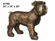 Monumental Bronze Terrier - SALE!