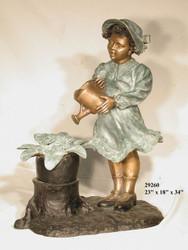 Watering Girl Fountain - Final Sale