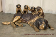 St. Bernard and Her Pups - SALE!