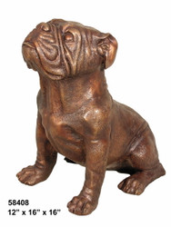 "16"" Sitting Bulldog - SALE!"