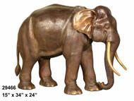 Walking Elephant - Trunk Down