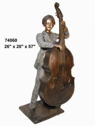 Boy Playing Bass