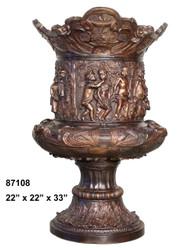 """Greco-Roman Urn - 33"""" Design"""