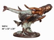 Table bottom - Mermaid & Dolphins