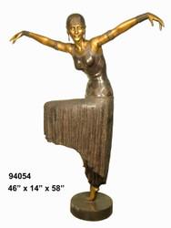 Costumed Dancer D