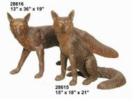 Pair of Foxes - SALE!