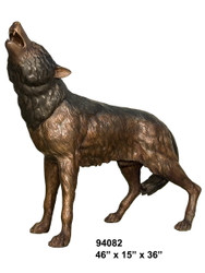 Howling Wolf (on all fours) - SALE!