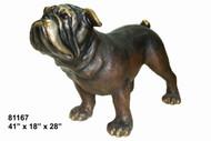 Monumental Bulldog (on all fours) - Design C