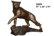Monumental Wildcat Mascot