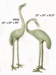 Crane Fountains - Pair