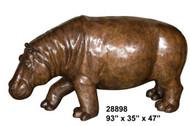 "Walking Hippo - 93"" Design"