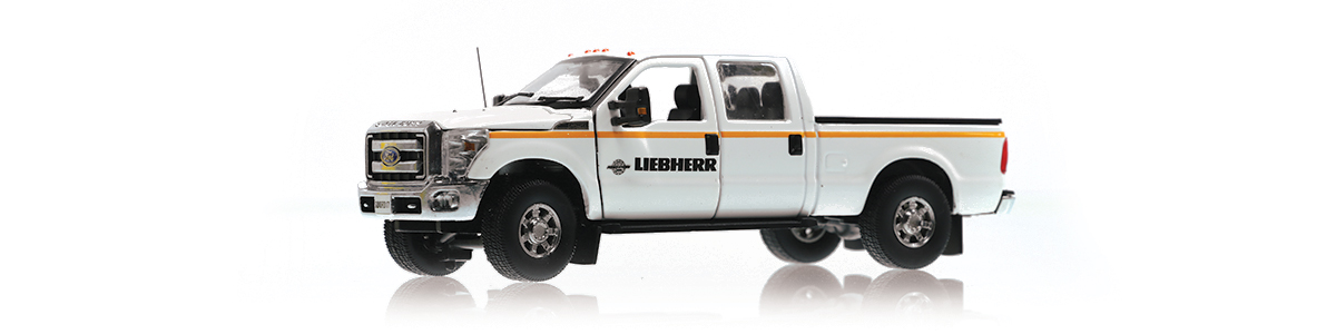 Order your Liebherr Ford F-250 diecast scale model today!