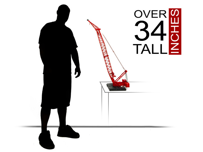 "Manitowoc 16000 Executive Edition measures 34"" Tall"