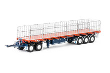 1:50 diecast scale model of MaxiTRANS Freighter Road Train Set - Drake