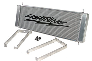 Lightning Stencil does not come with the Heat Exchanger, we do offer the stencil at a special price of $24.00 See options! Also fits the 02-03 Supercharged Harley!
