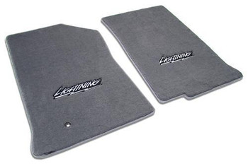 1999 04 Ford F150 SVT Lightning Floor Mats With Logo By Lloyd