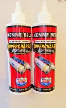 KENNE BELL SUPERCHARGER Oil 2 BOTTLES 8oz VORTEC,EATON,WHIPPLE,LYSHOLM ROUSH ( SCO-8)
