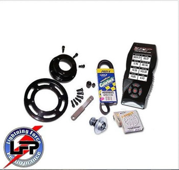 LFP Stage 1 SCT X4 7015 Power Package 8 PSI 1999-2004 Ford SVT F-150 Lightning or 02-03 Harley 8 # Pulley with MAF 2600 (Stage1powerpkg8) (Stage1powerpkg8MAF2600)