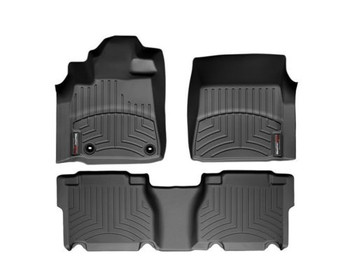 WEATHERTECH 444081-440938 TOYOTA TUNDRA 2014-2016 FRONT & REAR CREWMAX MATS (444081-440938)