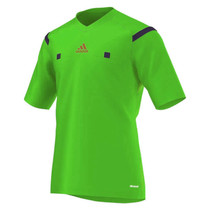 2014 Adidas Referee Jersey Short Sleeve (Green)