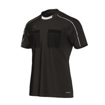 2016 Adidas Referee Jersey Short Sleeve (Black)