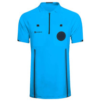 Soccer Referee Jersey Short Sleeve (Blue)