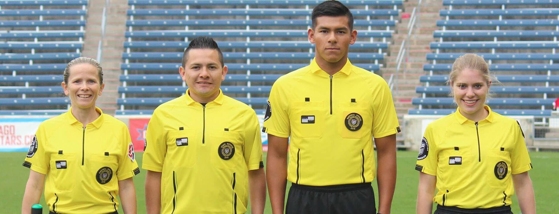 New OSI Jerseys for US Soccer Referees