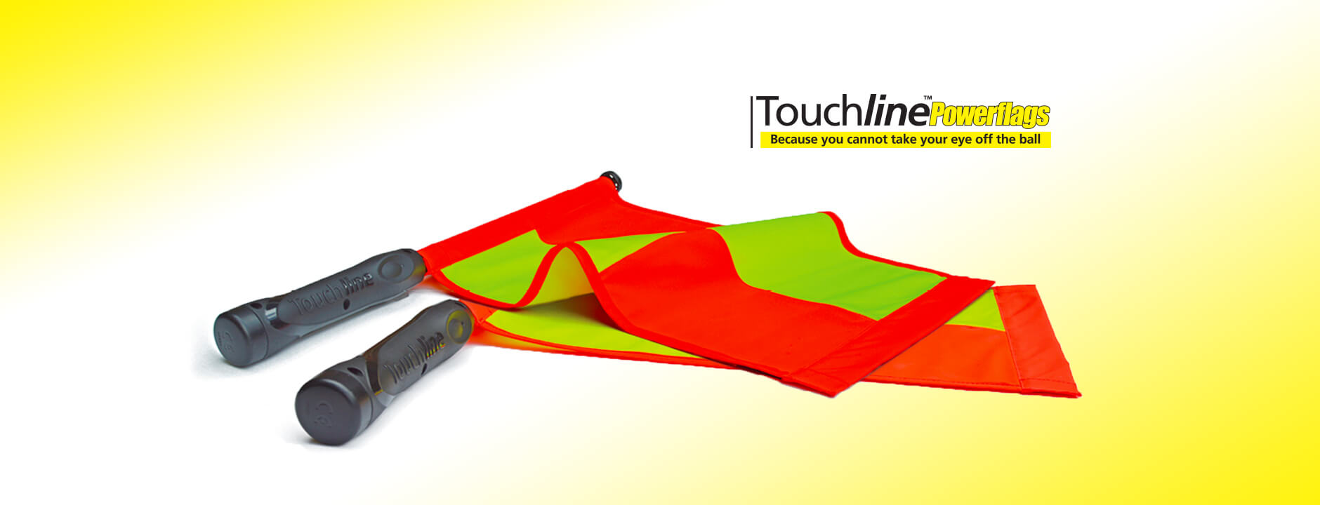 Touchline PowerFlags: State of the art electronic flags for soccer referees!